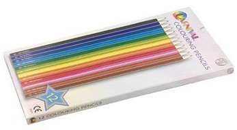 Carnival Colouring Pencils 12 Pack (Full Size)